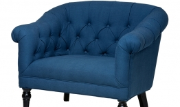 EICHHOLTZ Chair Bentley blue blend
