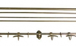 EICHHOLTZ Coatrack antique brass
