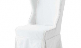 EICHHOLTZ Chair Pampelonne white Set von 2