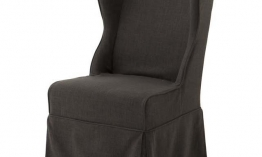 EICHHOLTZ Chair Pampelonne grey Set von 2