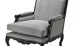 EICHHOLTZ Chair Brequet Dixon black