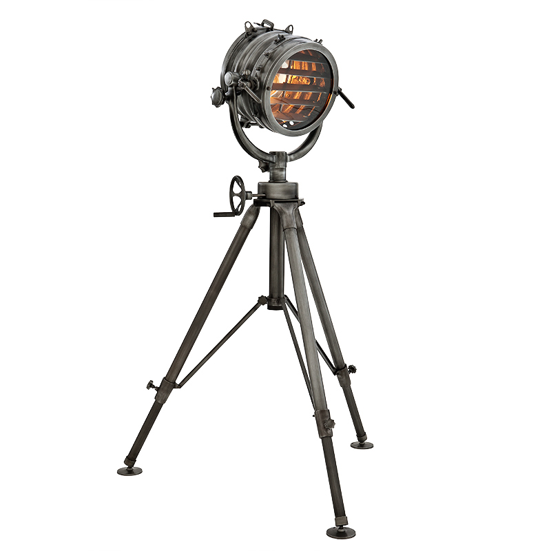 EICHHOLTZ Floor lamp Royal Master Sealight gunmetal