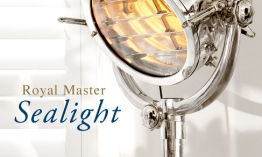 EICHHOLTZ Floor lamp Royal Master Sealight polished
