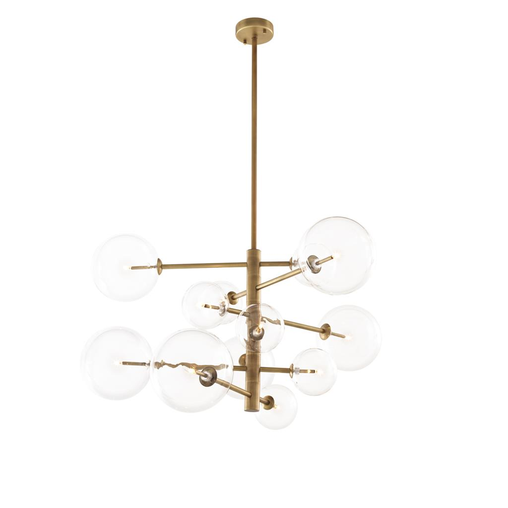EICHHOLTZ Chandelier Argento S Antique brass