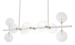 EICHHOLTZ Chandelier Largo nickel