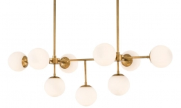 EICHHOLTZ Chandelier Lux antique brass