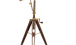 EICHHOLTZ Telescope Andromeda antique brass