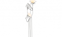 EICHHOLTZ Floor Lamp Melbury nickel