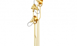 EICHHOLTZ Floor Lamp Melbury polished brass