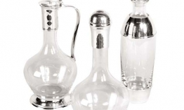EICHHOLTZ Decanter Breamar Set von 3 Stk.