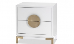 LE-Otium-Bedside-Table-White-High-Gloss-Champagne-Gold-3