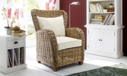Nova Solo Queen Chair Wickerworks Rattan