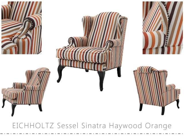 EICHHOLTZ Sessel Sinatra Haywood Orange